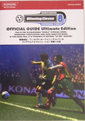 World-Soccer-Winning-Eleven-8-LIVE-WEAR-EVOLUTION-Way-to-Victory-KONAMI-Book