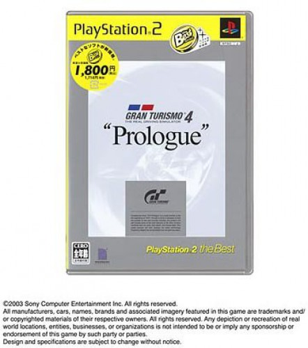 Details about PS2 Gran Turismo 4 Prologue Edition PlayStation 2 the Best  [NTSC-J] Japan Import