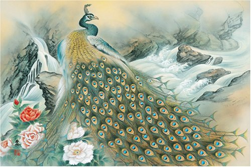 1000 piece Zuicho peacock peony view 50x75 Puzzle Japan Import Toy Hobby