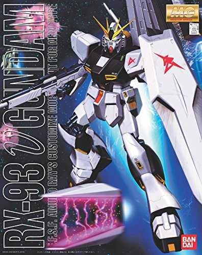 Gundam RX-93 Nu Gundam MG 1 100 Scale Scale Scale Japan Import Toy Hobby Japanese 17fdaa