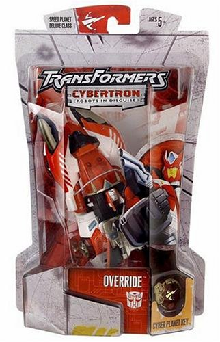 Transformers Cybertron Deluxe Class override Toy Japan Hobby Japanese Kids Gift