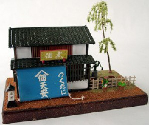 Tsukudani Shop Plastic model kawai 1 60 Scenery plamo Japan Toy Model