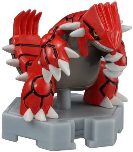 Pokemon P-29 Moncolle plus Groudon Toy Japan Hobby Japanese Kids Gift