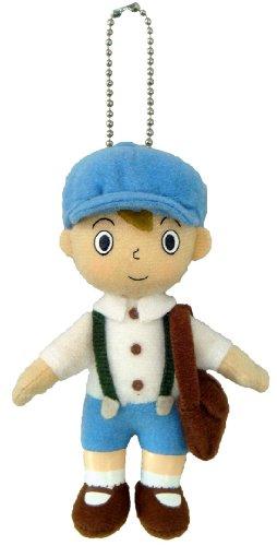 Professor Layton Mini Mascot boll Chain Luke Plush Doll Stuff leksak japan importeraeraera