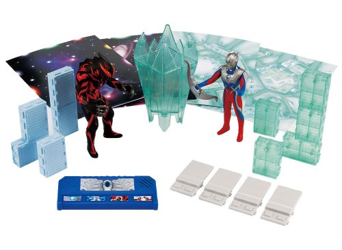 Sound Ultra City DX galaxy battle  Ultraman Zero VS Ultraman Belial Toy Japan