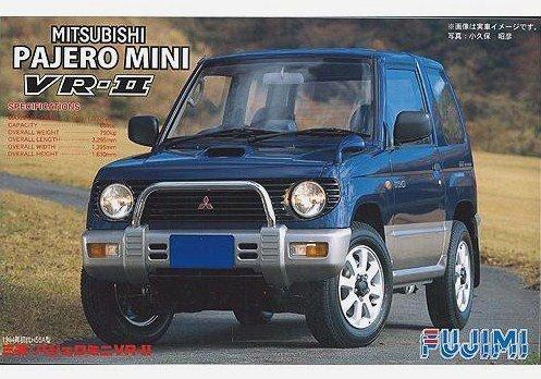 1 24 Inch Series No. 001 Mitsubishi Pajero Mini VR-II1994 plamo Japan Toy Model