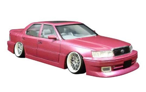 Aoshima Models No. 95 11 1 24 supermarket VIP car pole F breath Celsior plamo