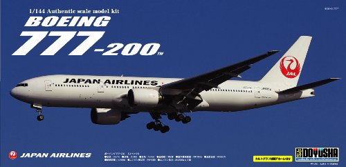 1 144 Boeing 777-200 777-200 777-200 JAL Japan Imports ] Japan Import Toy Hobby Japanese 0d58f4