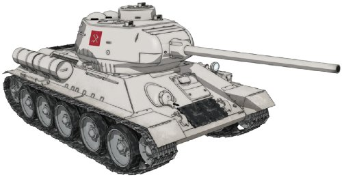1  35 flickor Panzer Series GP -11 T34  85 Pravda high school ver.Plamo japan leksak
