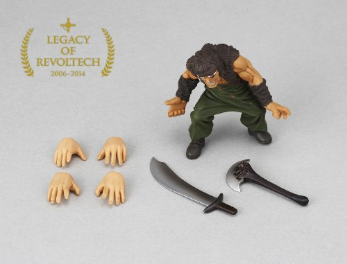 Fist of the North Star Rei 5.7 inch Revoltech Figure Japan Doll Toy