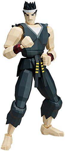 Figma Virtua Fighter Akira Yuki Figure Japan Import Toy Hobby